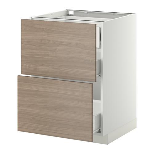 verfahren wk forvara eine f llung frnt 2 3 durchschnittliche schubladen wei brokhult. Black Bedroom Furniture Sets. Home Design Ideas