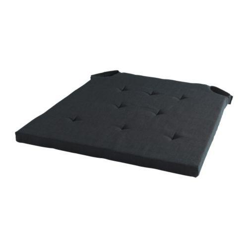 АДМЕТЕ Подушка на стул - черный