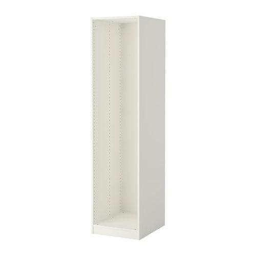 ПАКС Каркас гардероба - белый, 50x58x201 см
