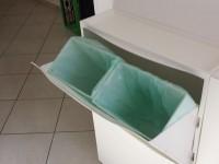 Waste basket of IKEA Shoe cabinet TRONES