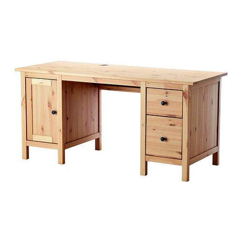ХЕМНЭС Письменный стол - светло-коричневый