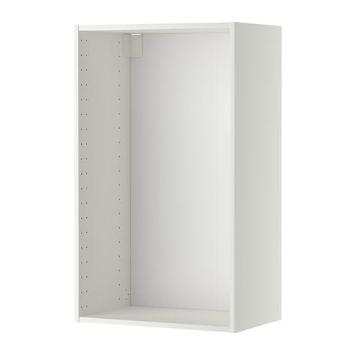 МЕТОД Каркас навесного шкафа - 60x37x100 см, белый