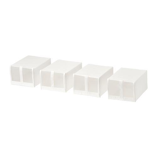 СКУББ Коробка для обуви - белый