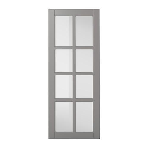 БУДБИН Стеклянная дверь - 40x100 см