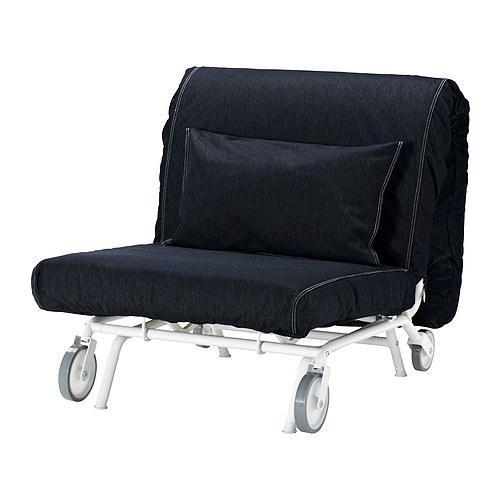 IKEA PS HAVET Sillón cama Vansta azul oscuro, Vansta azul oscuro