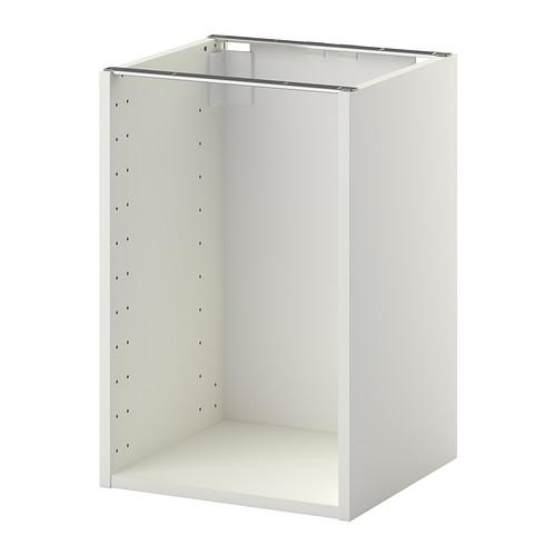 МЕТОД Каркас напольного шкафа - 40x37x60 см, белый