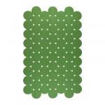 ИКЕА ПС 2012 Ковер, безворсовый - зеленый