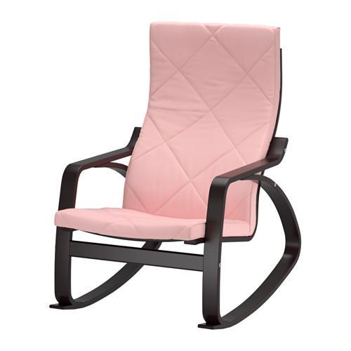 ПОЭНГ Кресло-качалка - Эдум розовый, Эдум розовый