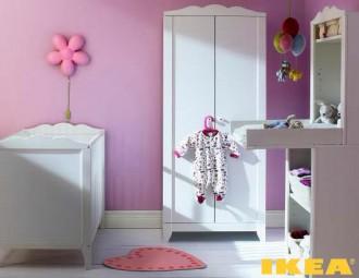 Интерьер детской комнаты ИКЕА