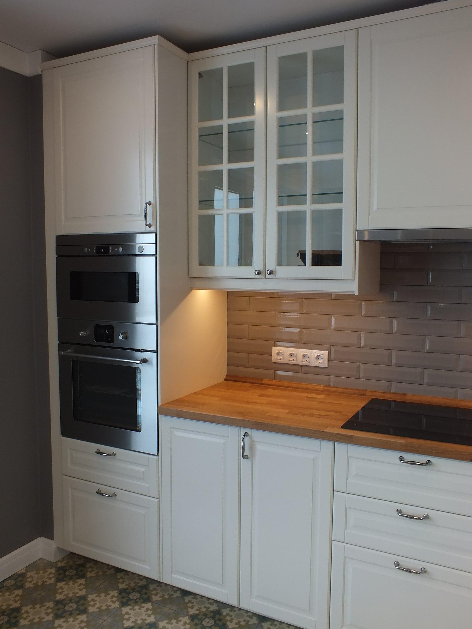 кухня икеа от студии Crossartstudio