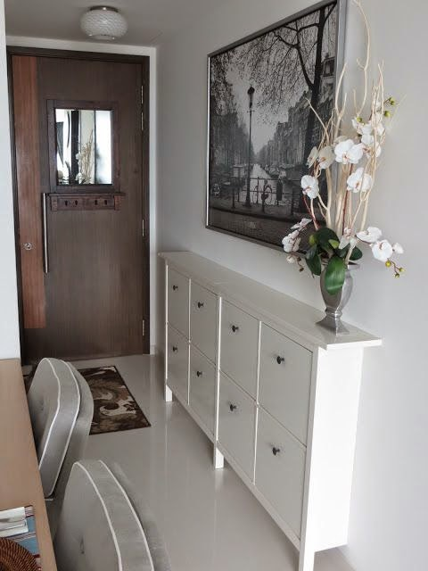 Шкаф за обувки Ikea Hemnes избор на интериорни коридори