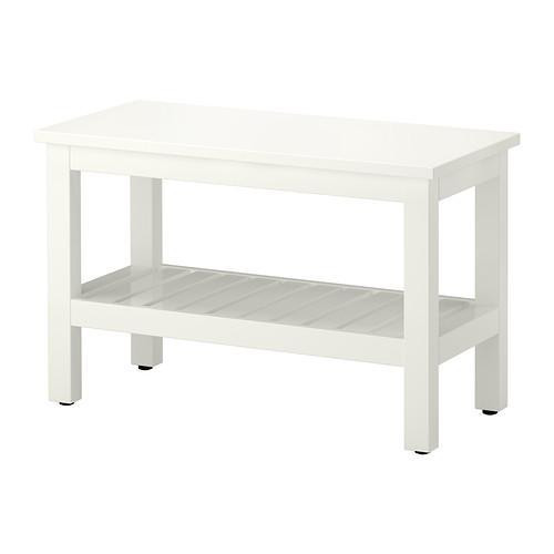 HEMNES bench white