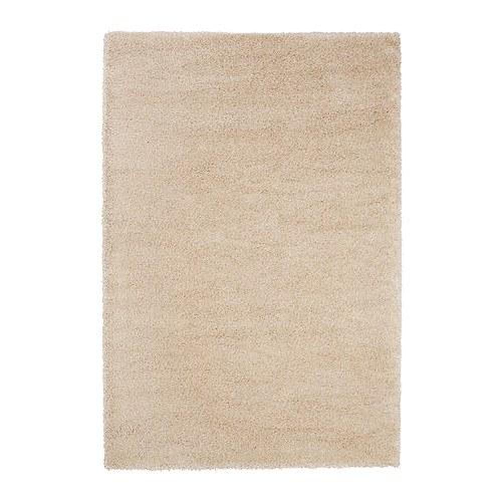 Tapis Long Poil Blanc tapis Ådum, long poil blanc avec une touche de 200x300 cm