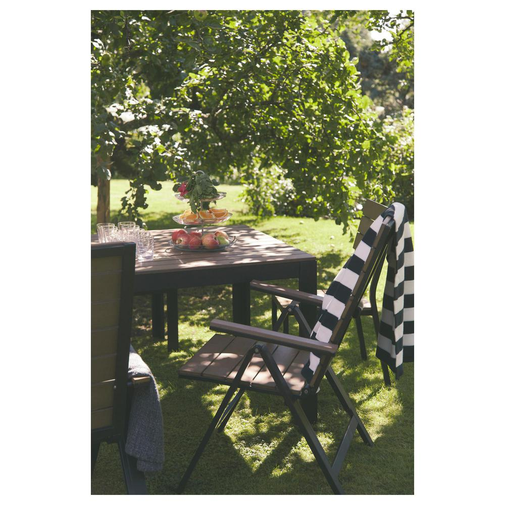 FALSTER Krzesło ogrodowe regulowane oparcie