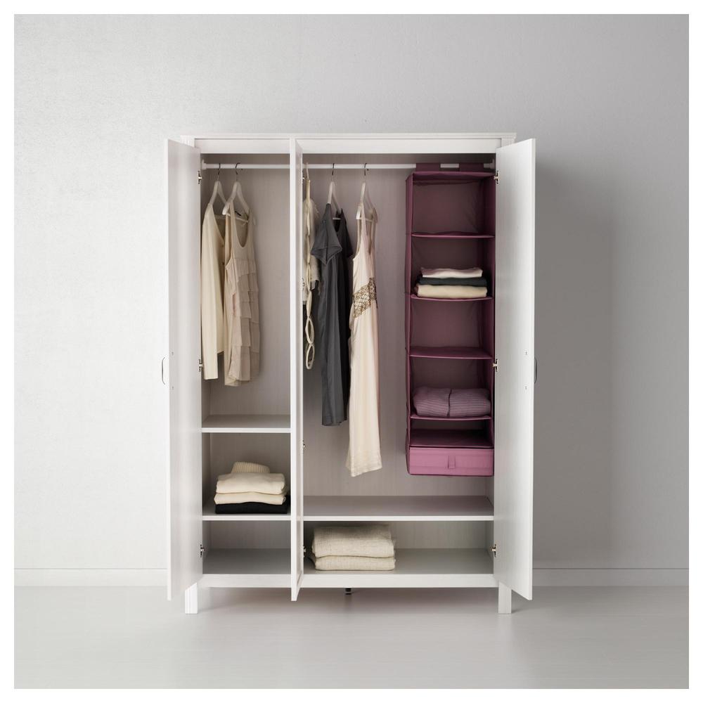 BRUSAL Kleiderschrank 3-Tür - weiß (002.501.69) - bewertungen ...