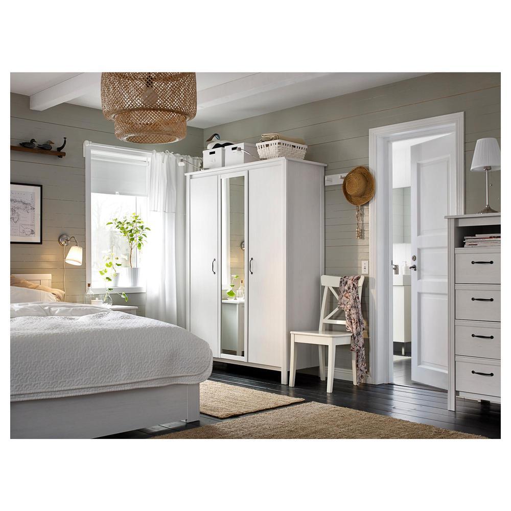 Brusal armario 3 door blanco opiniones precios d nde comprar - Ajustar puertas armario ...