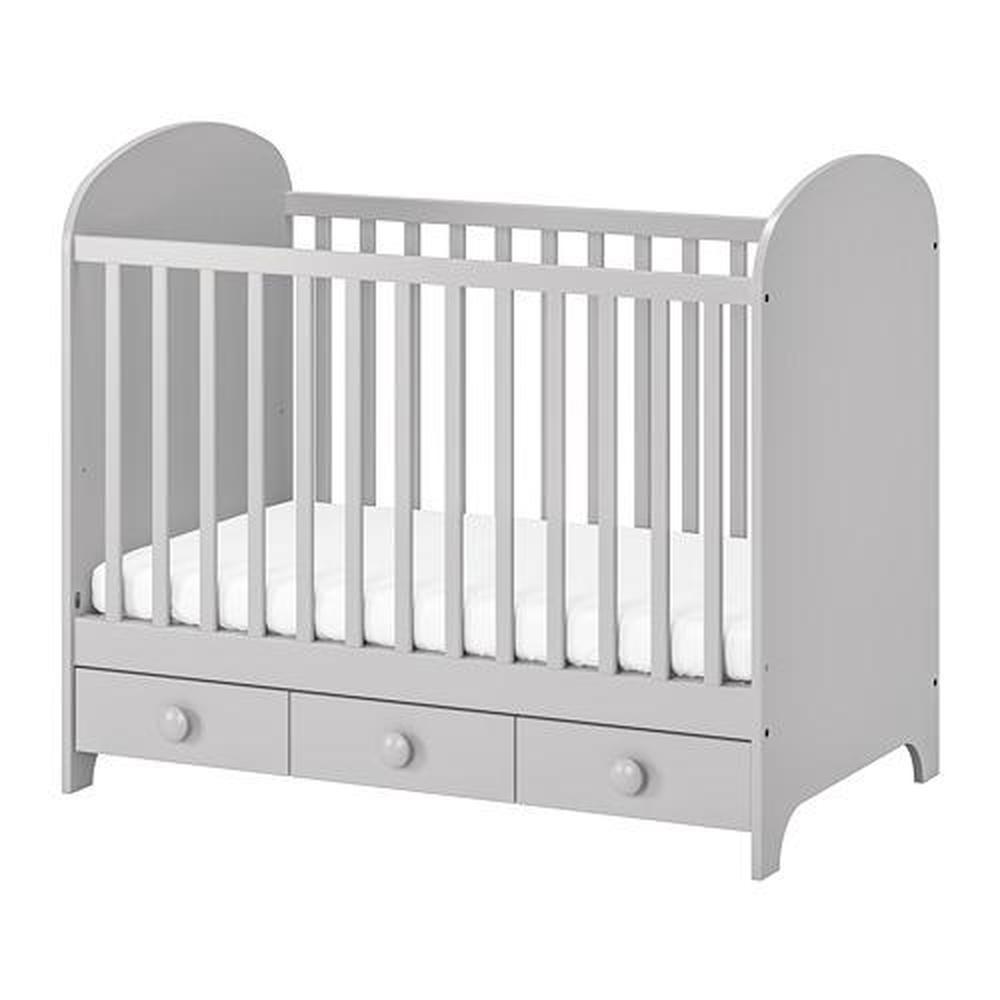 Gonatt Bed For Children Light Gray 002