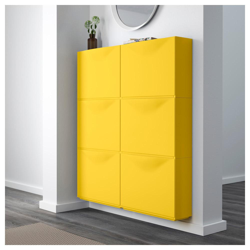 TRONES Shoe Cabinet / Closet   Yellow