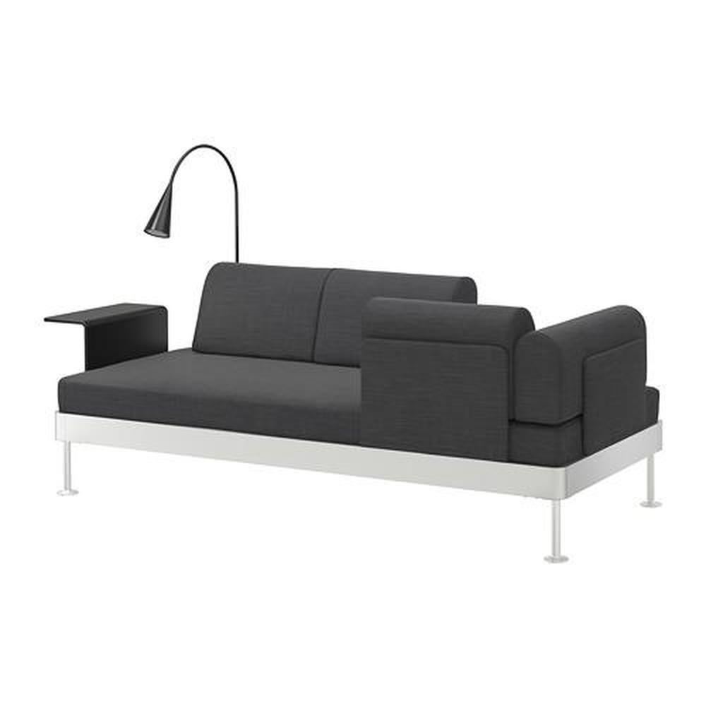 nonopdelaktig 3 seters sofa med bord