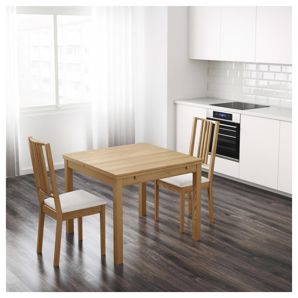 Bjursta Sliding Table Oak Veneer 101 168 11 Reviews Price