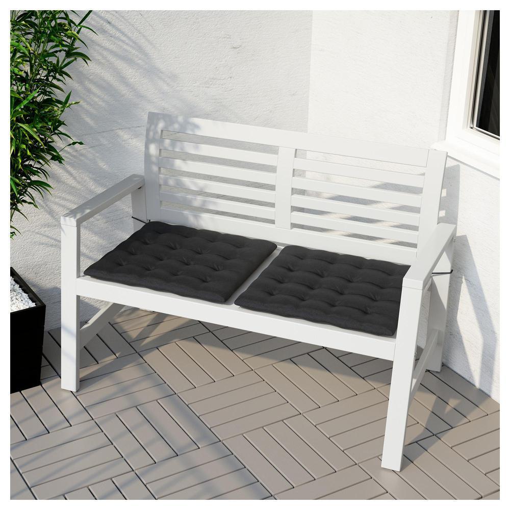 Panca da giardino eplaro con schienale bianco for Ikea panca giardino