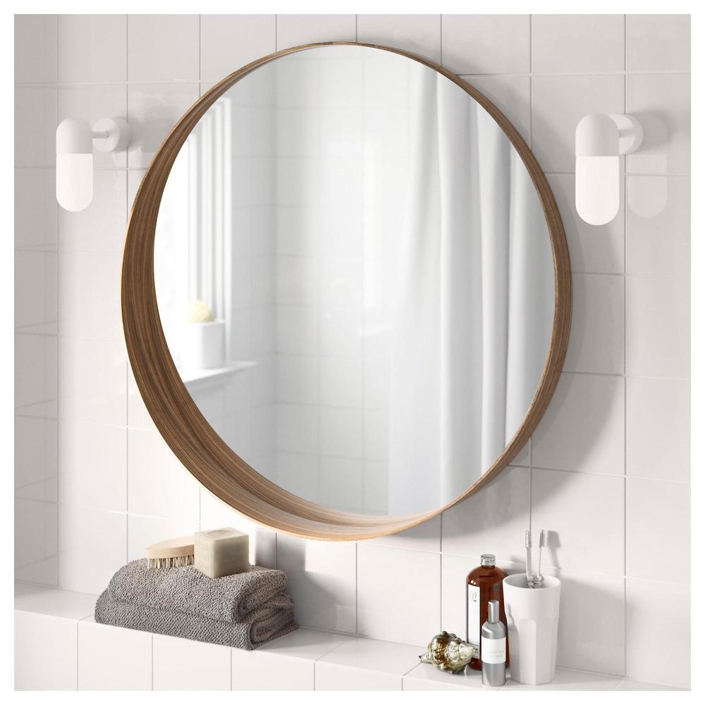 Stockholm Mirror Walnut Veneer 10369281 Reviews Price Where