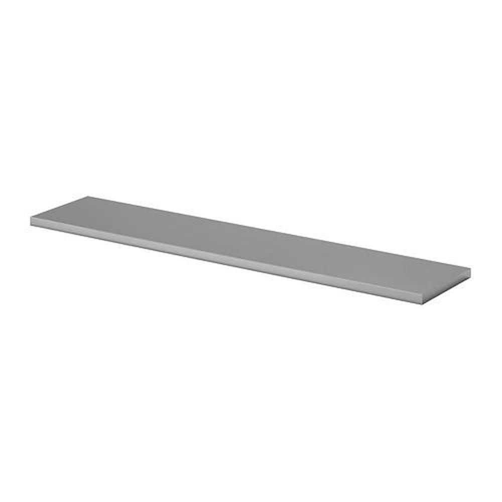 Ikea EKBY Mossby Plateau en Acier Inoxydable 79x19 cm