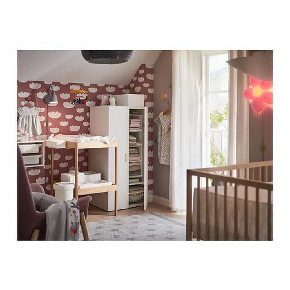 Beuken Tafelblad Ikea.Sniglar Veranderende Tafel Beuken Wit 200 452 05