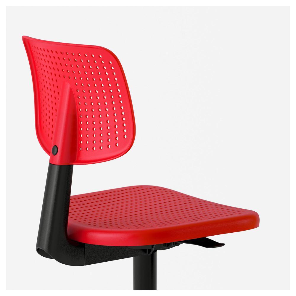 Alrik krzesło biurowe Czerwony