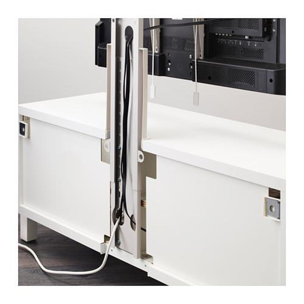 Porta Tv Girevole Ikea.Staffa Uppleva D Tv Grigio Chiaro Rotante