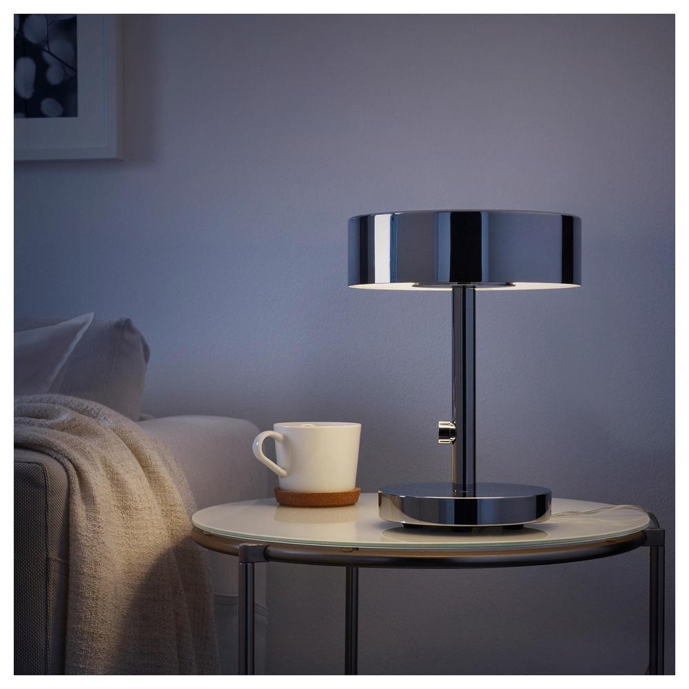 STOCKHOLM 2017 Bordslampa, förkromad IKEA