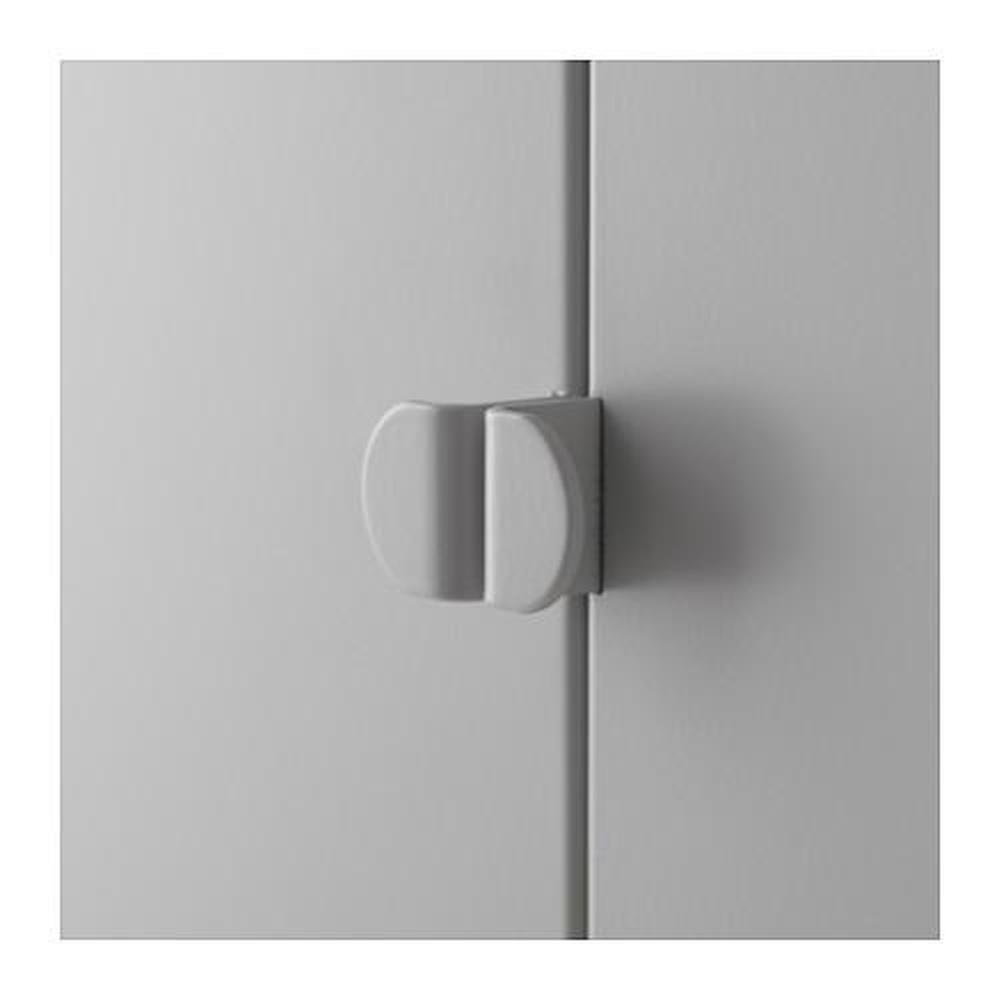 Lixhult Cabinet Combination Gray