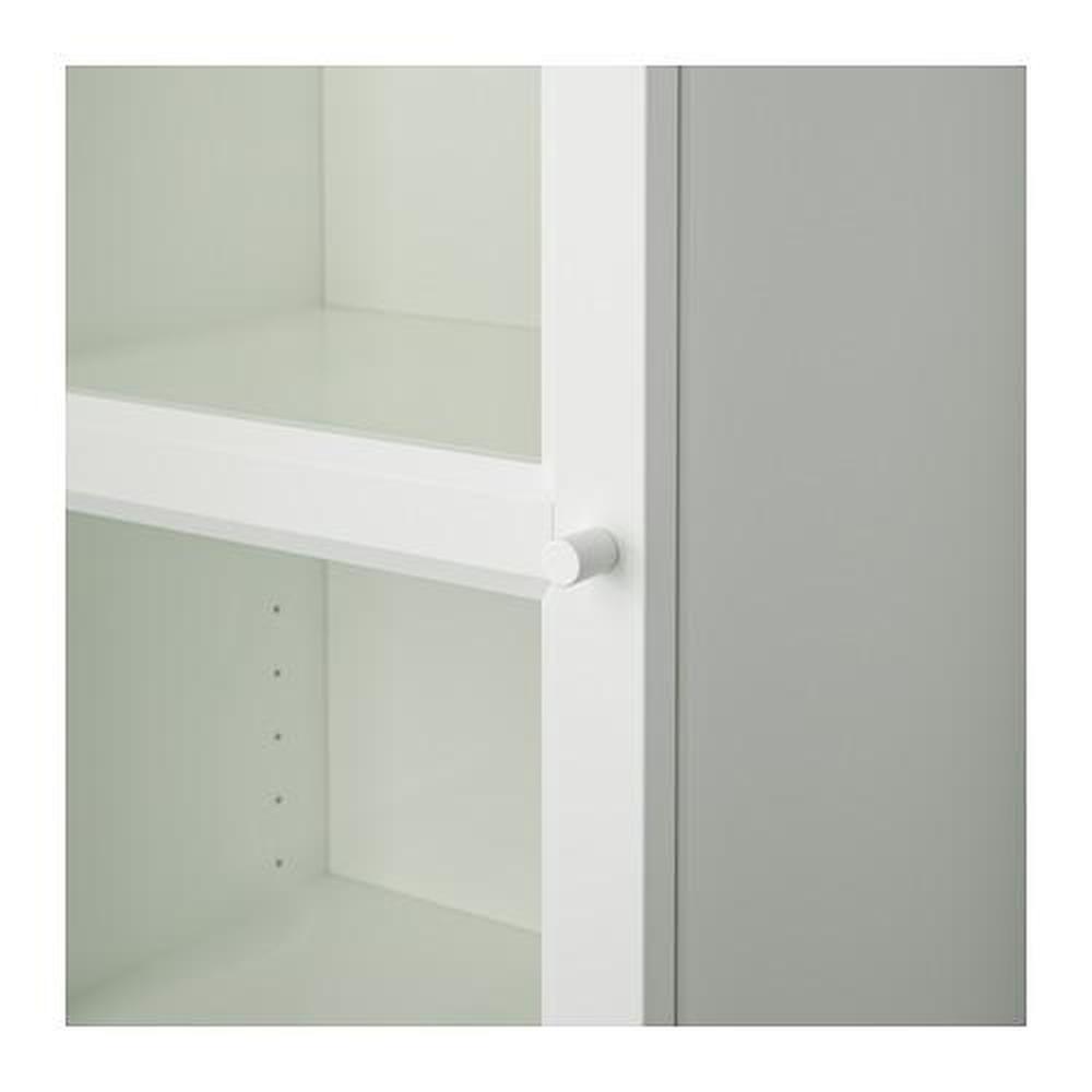 Boekenkast Billy Oxberg.Billy Oxberg Bookcase With Glass Door
