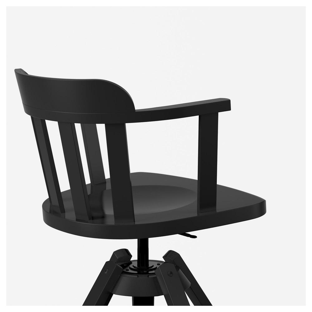 Theodore giratoria sillón Negro