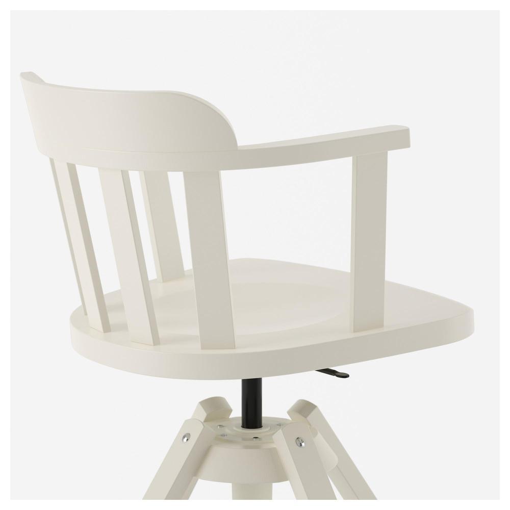 Theodore giratoria sillón blanco