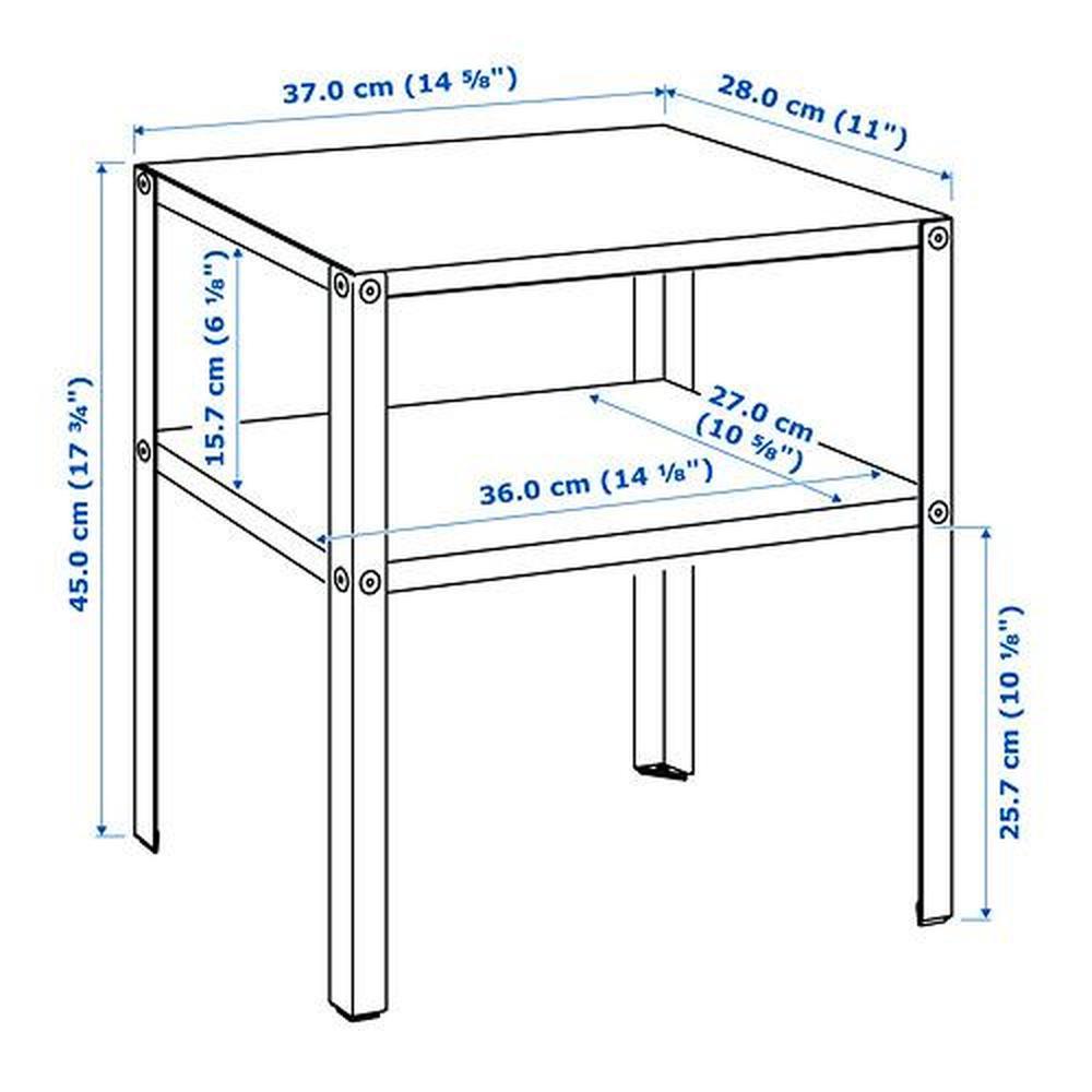 KNARREVIK de Table de KNARREVIK chevet Table chevet rCoWdeBx