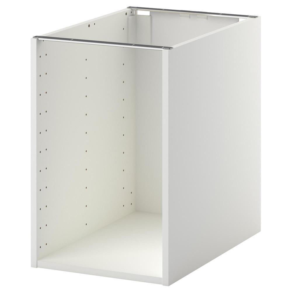 MÉTODO El marco del mueble de piso es blanco, 40x60x60 cm (402.461 ...
