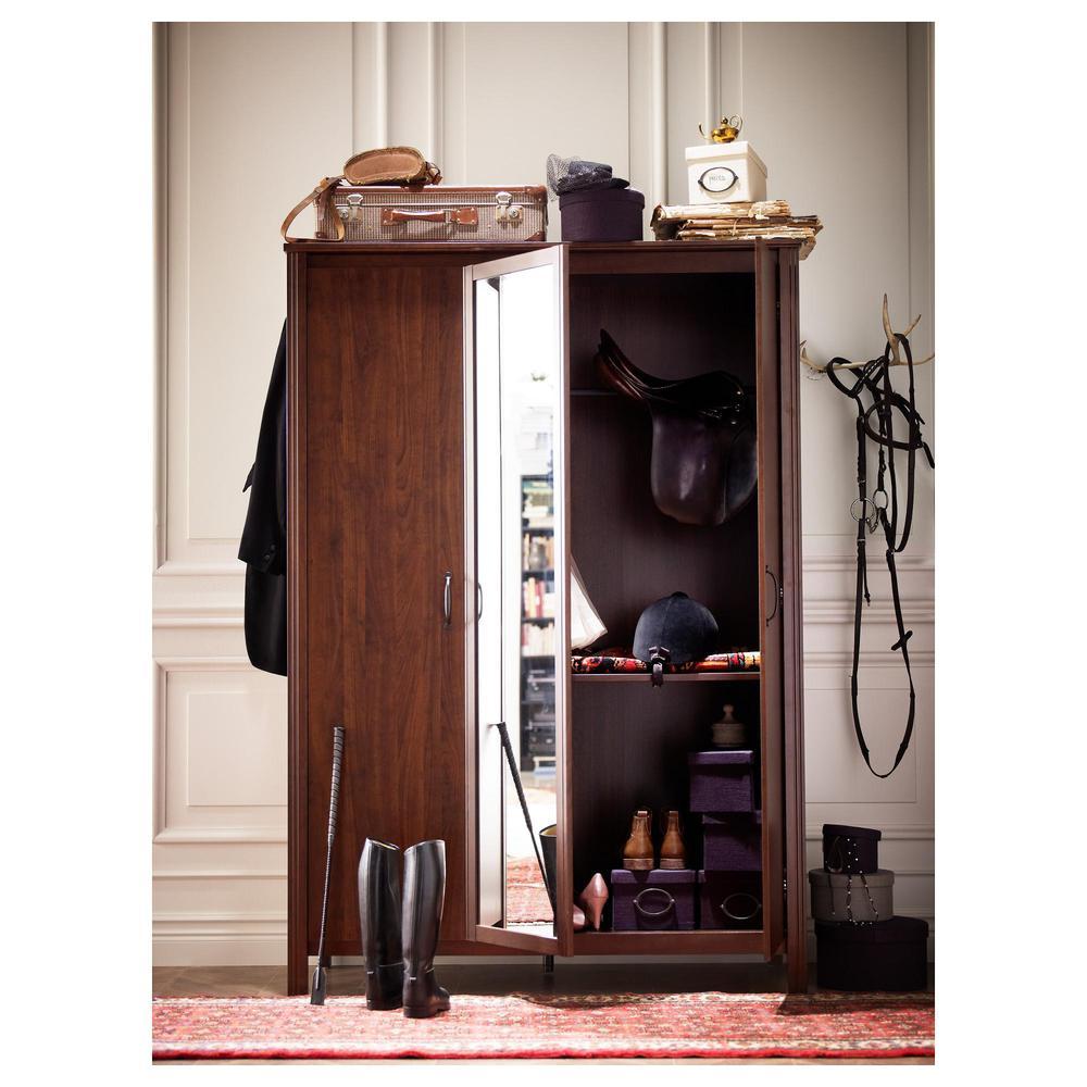 Brusal armario 3 puerta marr n opiniones precio d nde comprar - Ajustar puertas armario ...