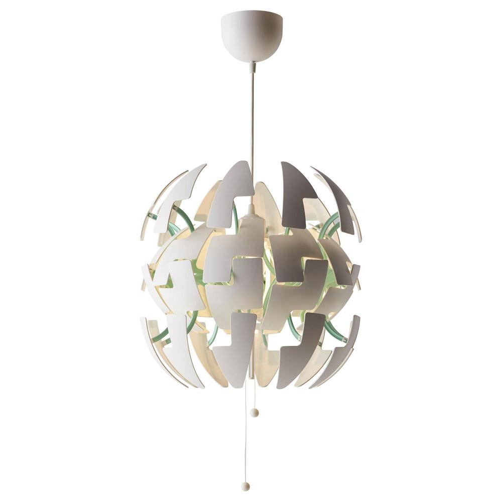Ikea Ps 2014 Suspension Light White Turquoise 40251119