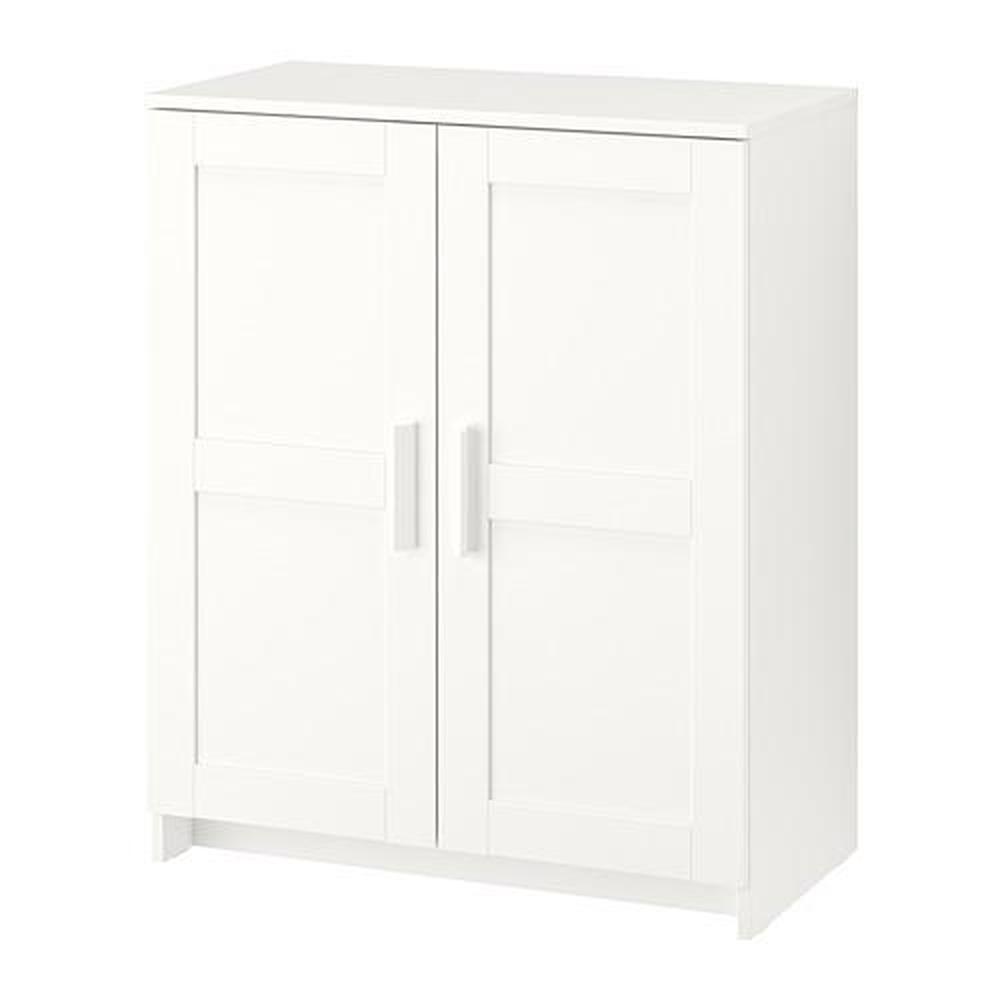 Brymnes gabinete con puertas blanco opiniones precio d nde comprar - Ajustar puertas armario ...