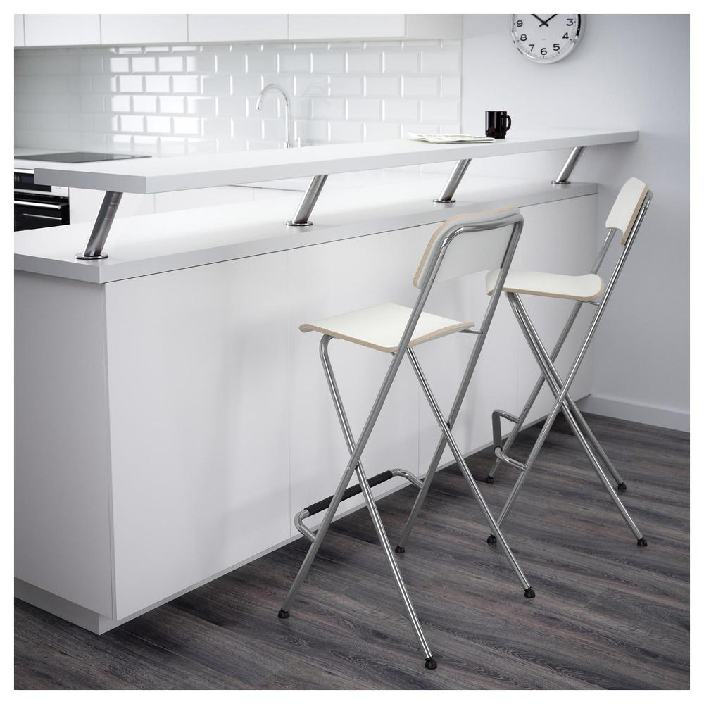 FRANKLIN Bar stol, fällbara 74 cm