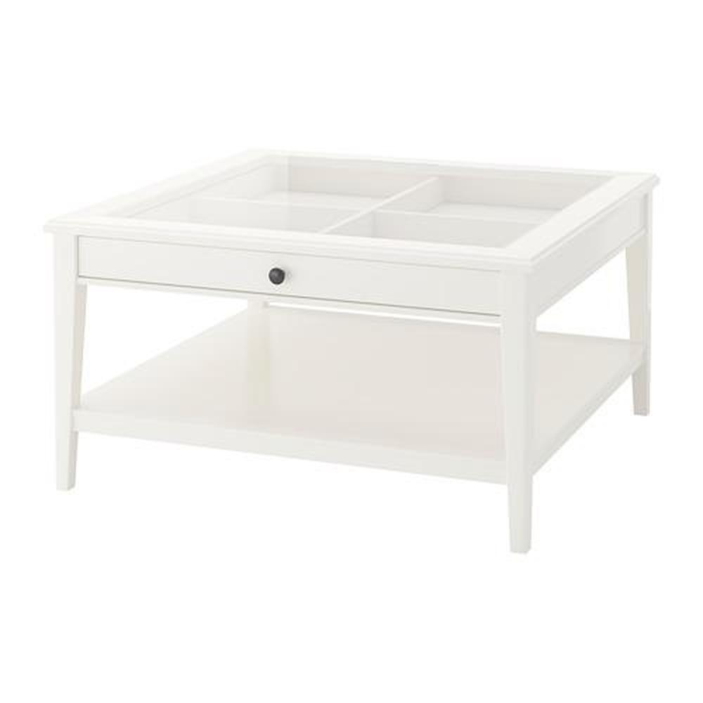 Liatorp Coffee Table White Glass 500 870 72 Reviews Price