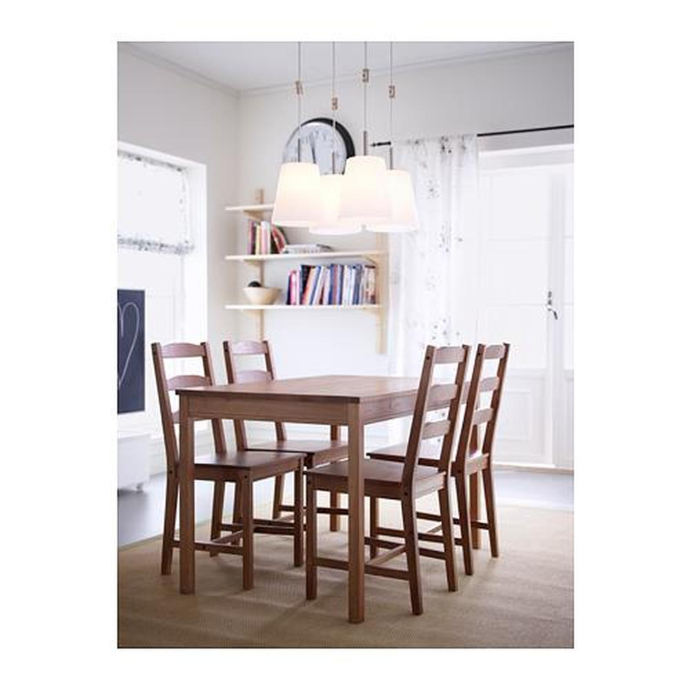 jokmock table and 4 chairs