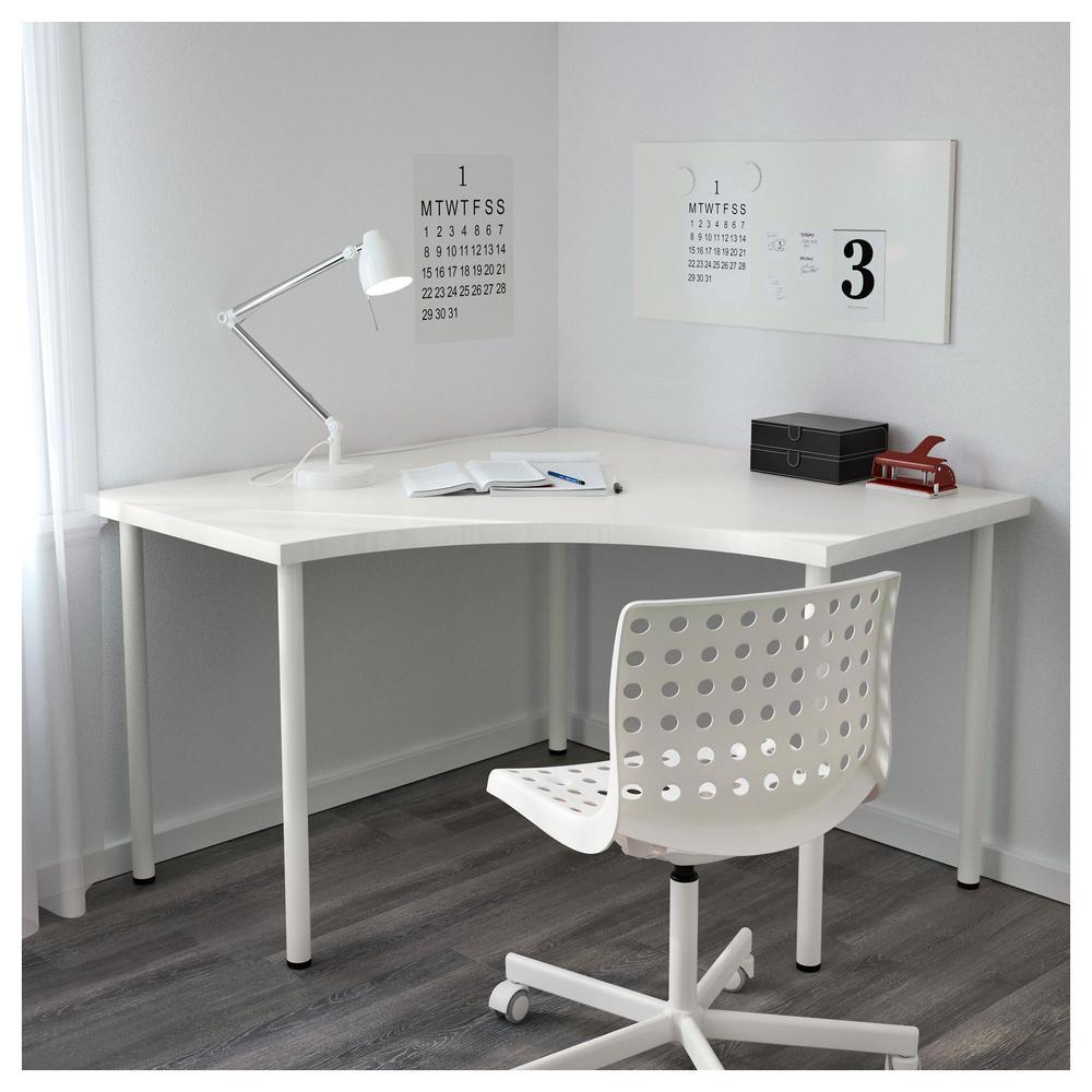 linnmon corner table top white reviews. Black Bedroom Furniture Sets. Home Design Ideas