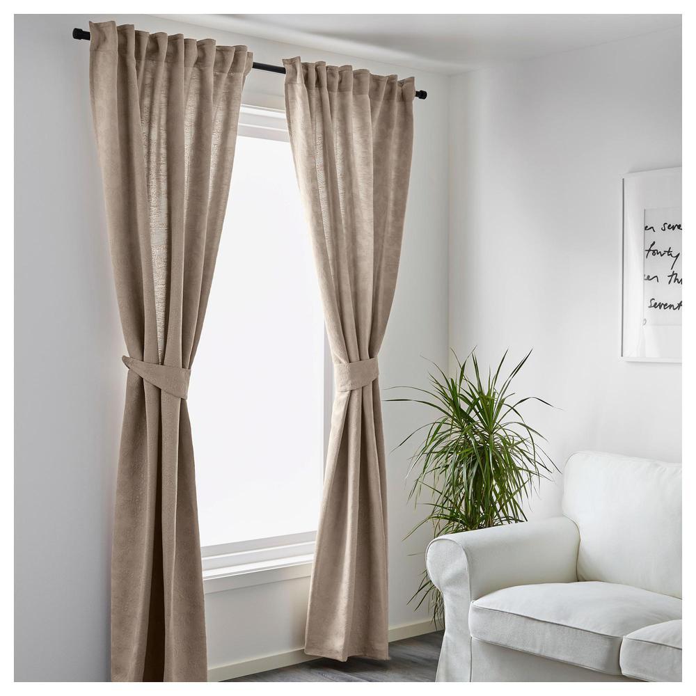blekviva vorh nge mit stichen 1 paar bewertungen preis wo zu kaufen. Black Bedroom Furniture Sets. Home Design Ideas