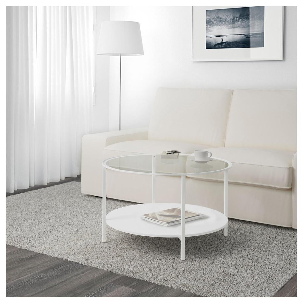 Vitscho Table Basse Blanc Verre 503 034 48 Avis