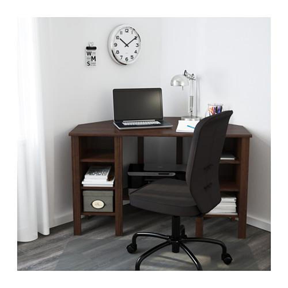 Brusali Corner Desk Brown 503 049 90 Reviews Price