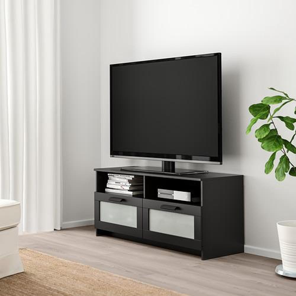 BRIMNES Kabinet voor TV - zwart (503.376.98) - recensies, prijs ...