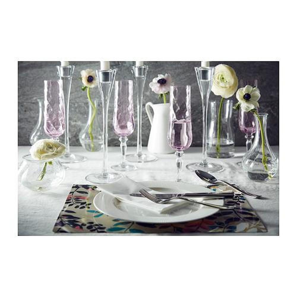 KONUNGSLIG champagne vidrio cristal claro corcho