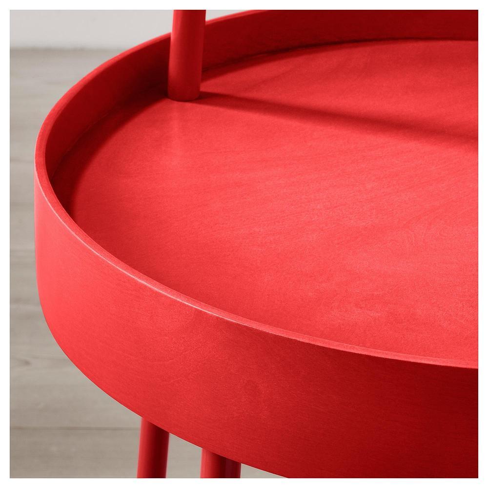 LAKK Desert asztal fényes piros (801.937.35) vélemények